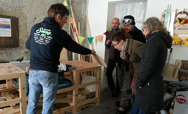 Formation sécurité sur les machines à bois