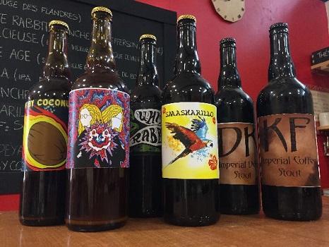 La bière du Sappey est toujours en vente