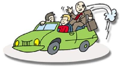 fichier partagé pour trajets quotidiens en voiture