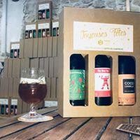 Idées cadeaux : des coffrets Bière de Noël et des bons-ateliers