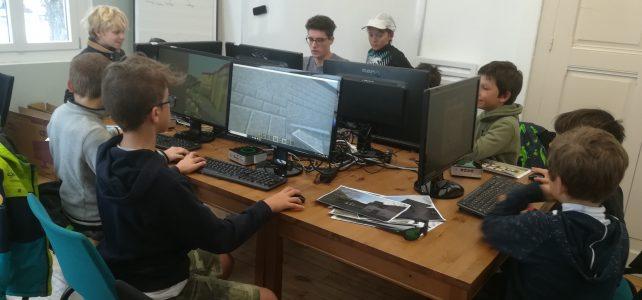 le club Minecraft redémarre les vendredis