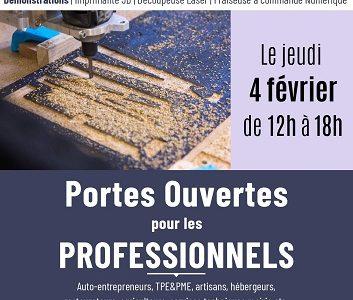 04/02 PORTES OUVERTES pour les pros (12h-18h)