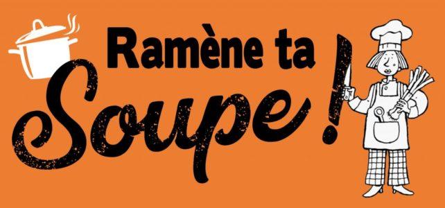 Ven 19/11 à 18h30 : Ramène ta soupe !